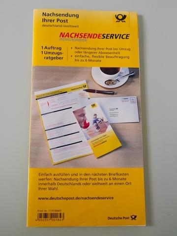 ドイツ 郵便転送