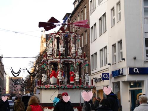 12月 開店前のクリスマス市~♪