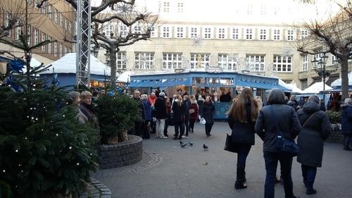 12月 デュッセルドルフのクリスマスマーケット~♪