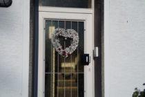 12月 クリスマスリース玄関~♪