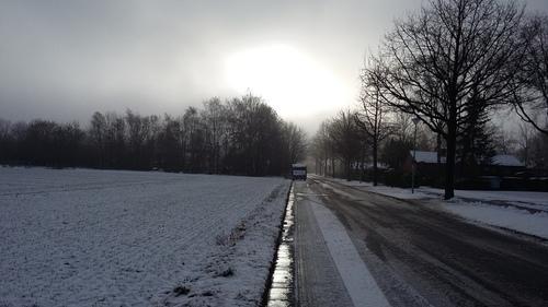 1月 初雪~♪