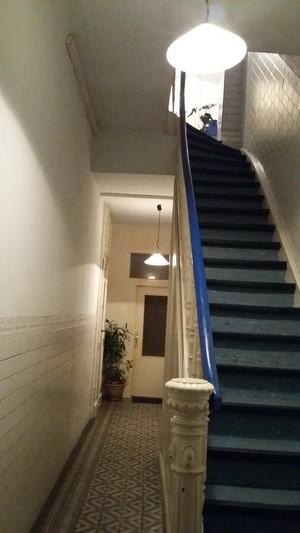 1月 玄関、エントランス(築140年アパートメント)~♪