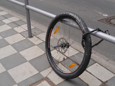1月 盗まれた自転車~♪