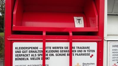 3月 ドイツ 古着用リサイクルコンテナ