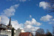 ドイツ 晴れ 雲 教会
