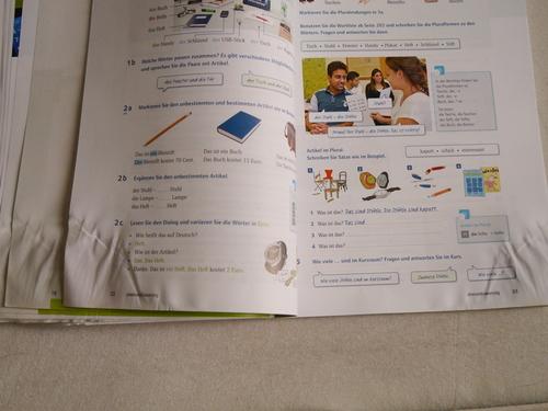 4月 ドイツ 語学学校 教科書